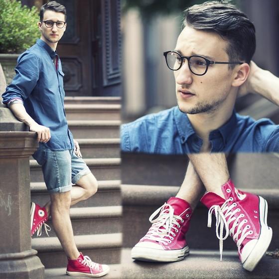 Cách đi giày converse cao cổ đơn giản