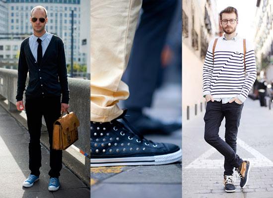 cách mix đồ với giày converse cao cổ cho nam