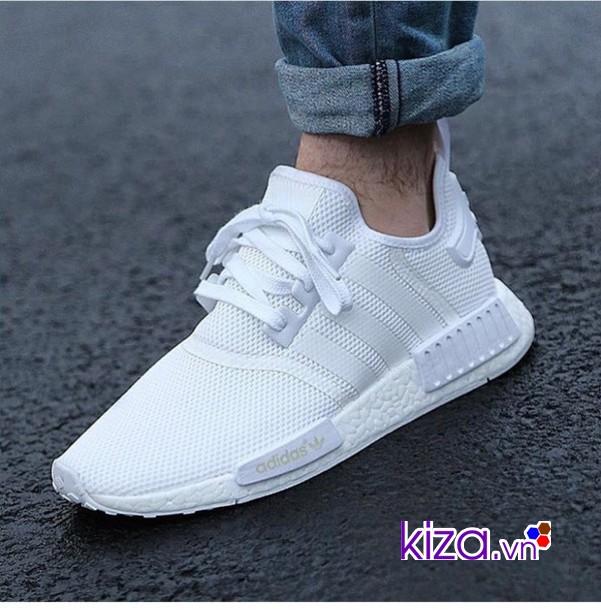 Nh?ng dôi giày Adidas nam màu tr?ng ch?c ch?n hot nam 2018