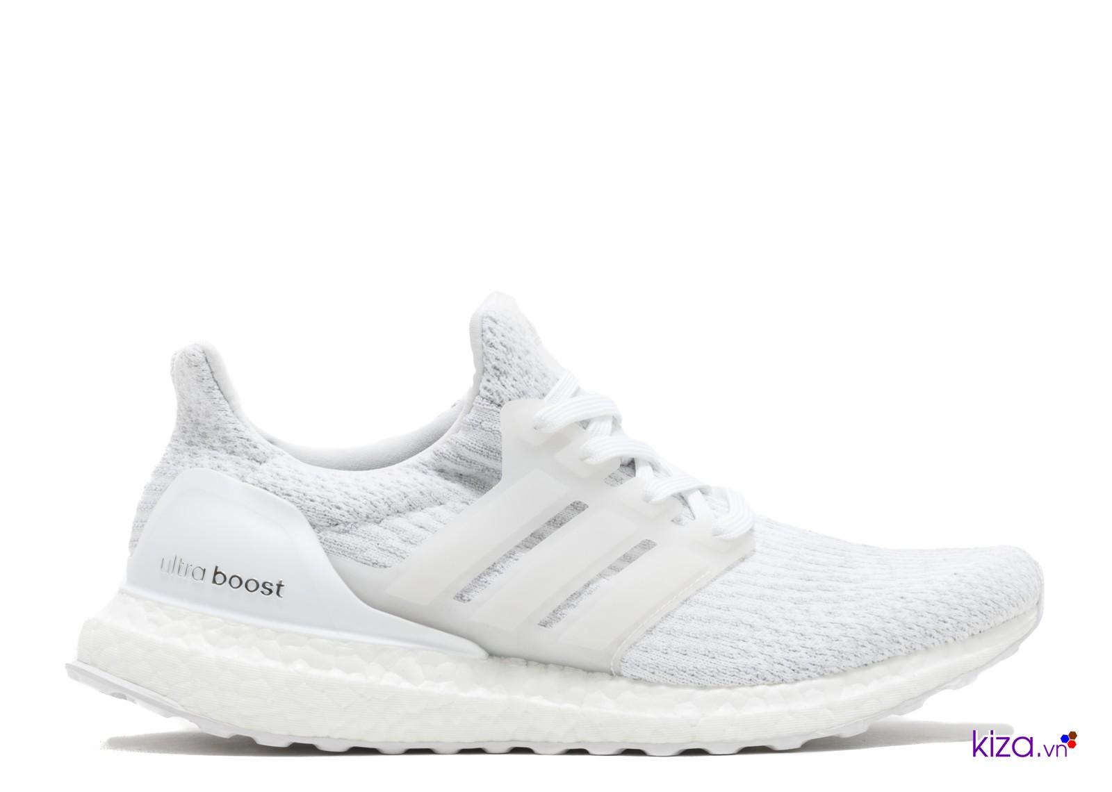 Giày Adidas nam màu trắng Ultra Boost
