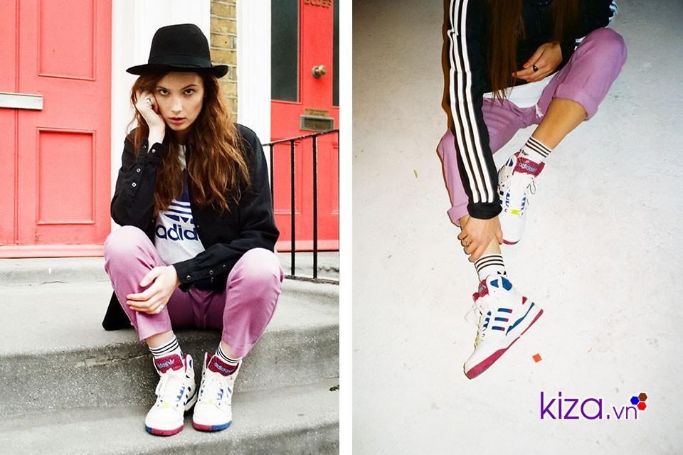 Mua giày Adidas nữ tại các store giá hơi cao nhưng hoàn toàn yên tâm về chất lượng