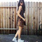Phối đồ với giày Converse nữ cổ cao đẹp xuất sắc