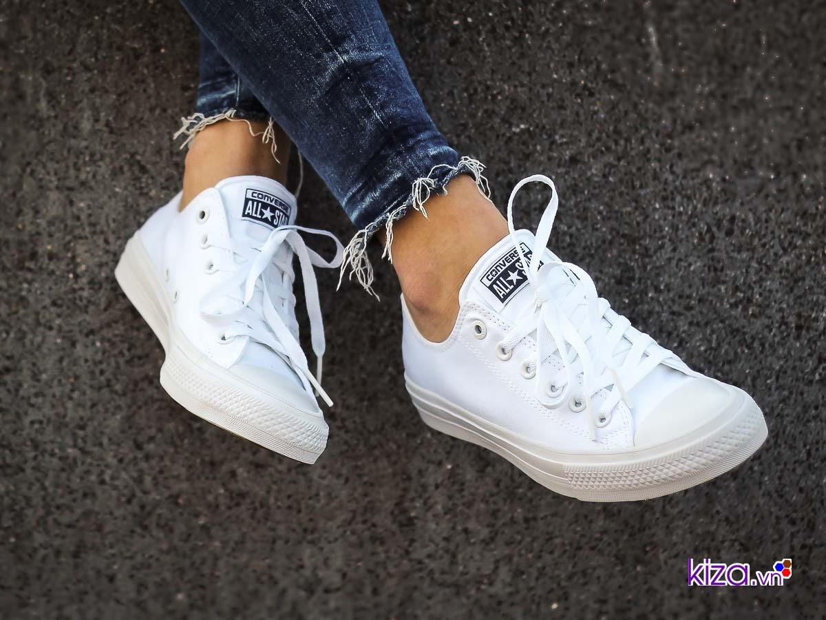 Sức hút của Converse chuck taylor 2 all white