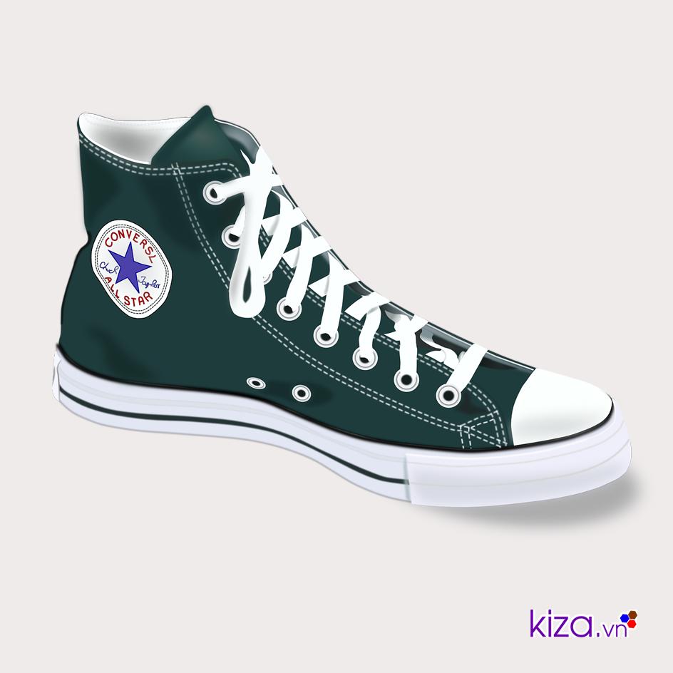 Từ những đôi giày bóng rổ có phần thô cứng chúng đã trở thành giày Converse sành điệu