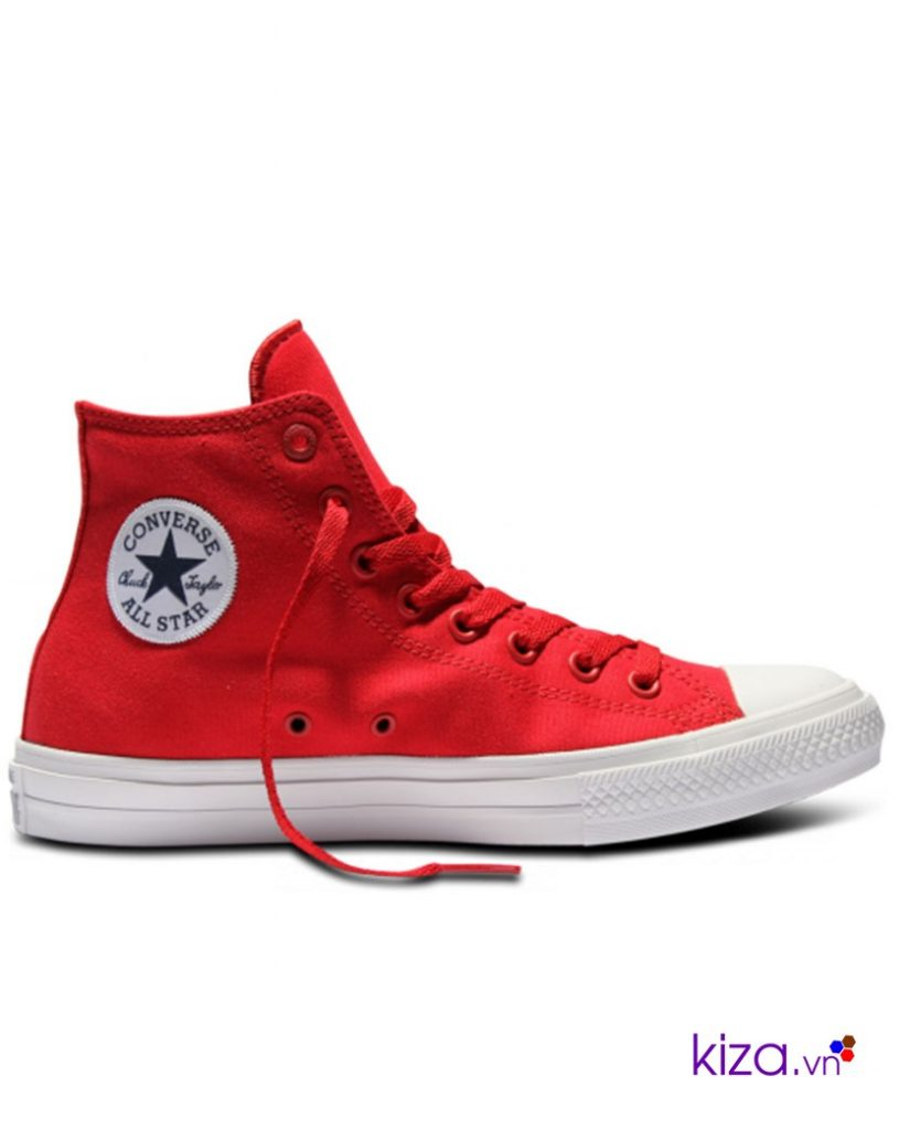 Màu đỏ tươi khiến Converse chuck taylor 2 đỏ thường bị lãng quên