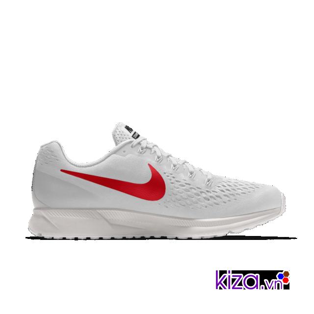 Đôi giày chạy bộ Nike Air Zoom Pegasus 34 phiên bản trắng đang được nhiều tín đồ Nike săn lùng