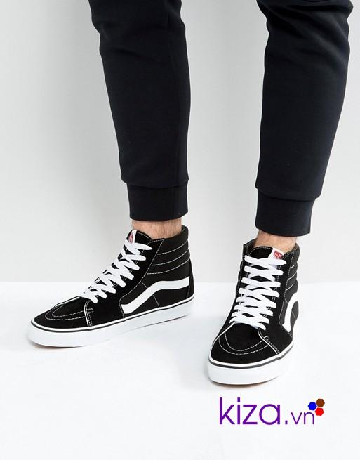 Giày Vans với chất liệu vải cao cấp có khả năng thấm hút mồ hôi tốt