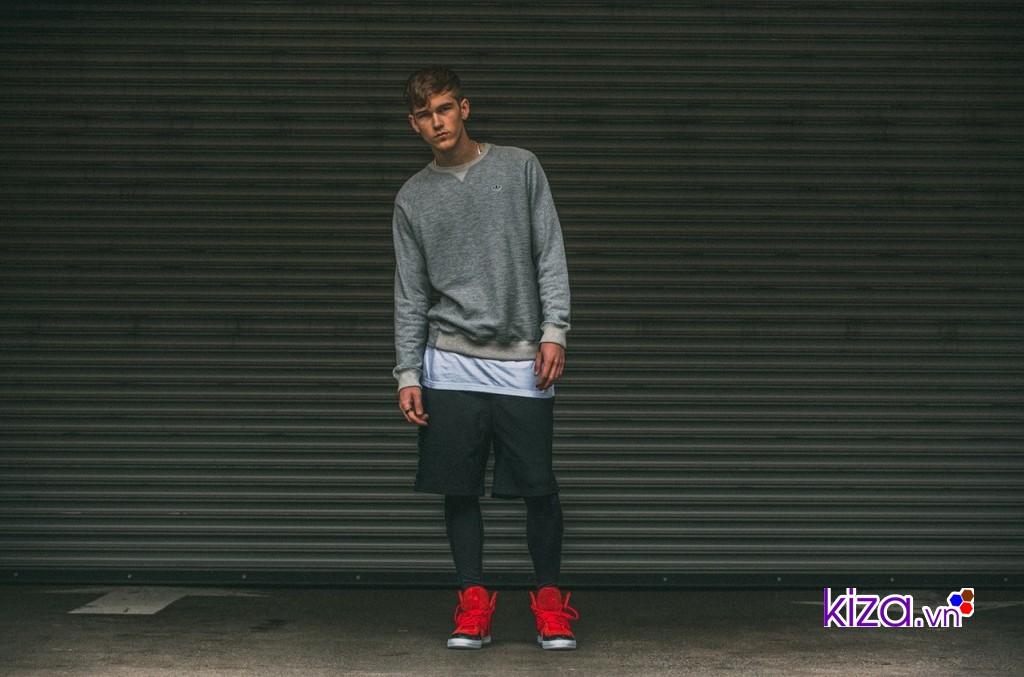 Khả năng phối đồ tuyệt vời của giày Adidas nam màu đỏ