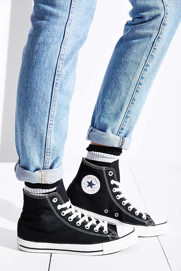 Cách thắt dây giày converse cổ cao đẹp