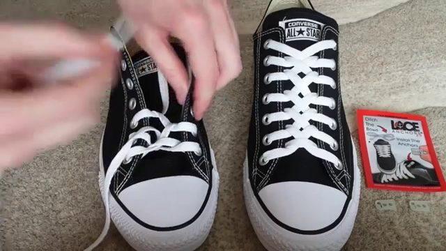 Thắt dây converse kiểu zipper