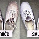 14 cách tẩy vết ố vàng trên giày – sạch như mới