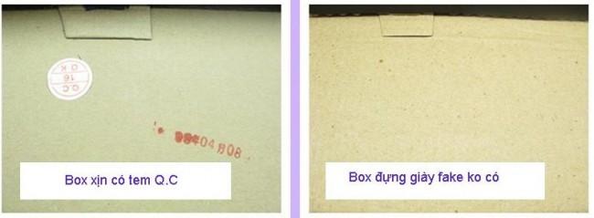 Cách phân biệt giày converse classic qua hộp