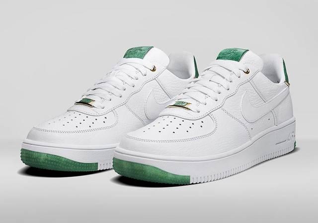Giày nike air force - phối màu xanh lá độc đáo