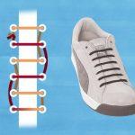 6 cách buộc dây giày giấu dây độc đáo [tuyệt chiêu]
