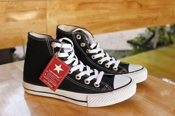 Giày converse classic cao cổ màu đen
