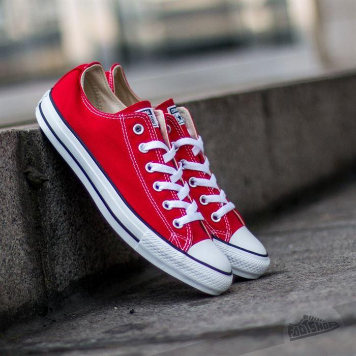 các loại giày converse nữ - giày converse thâp cổ màu đỏ