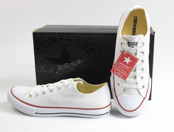phân biệt các loại giày converse - màu trắng