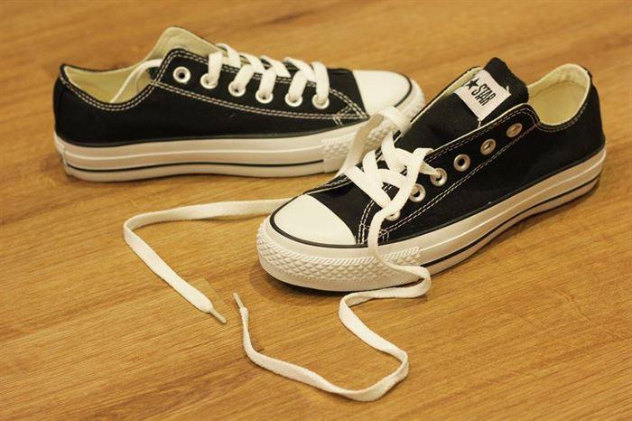 các loại giày converse nam - giày converse classic thấp cổ màu đen