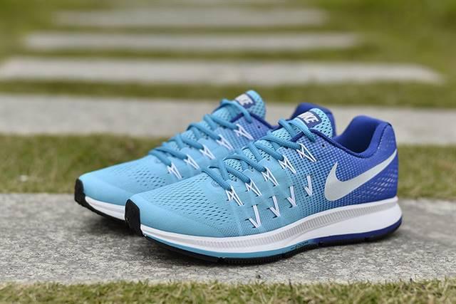 Nike Zoom phối màu xanh độc đáo