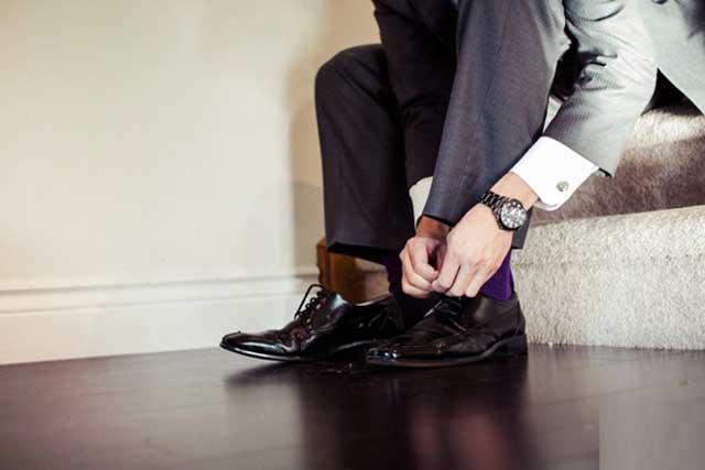 Giày nam phong cách châu âu