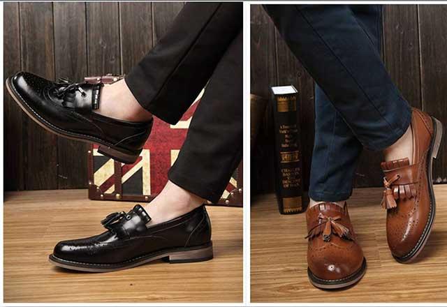 Giày nam phong cách