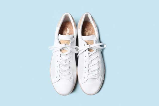 cách làm sạch giày da trắng