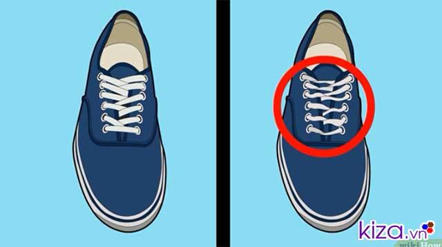cách buộc dây giày vans off the wall