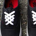 3 cách buộc dây giày vans đơn giản – đẹp độc đáo