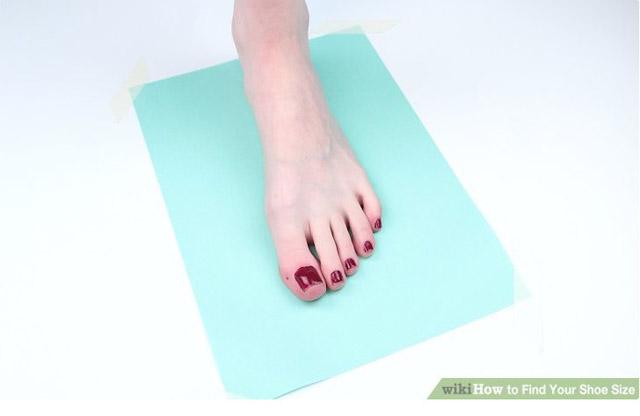 Cách đo size giày adidas
