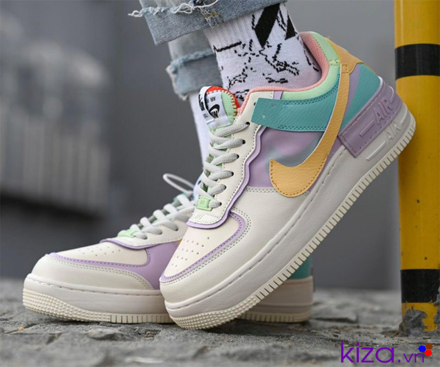 Giày nike Air Force 1 shadow 7 màu