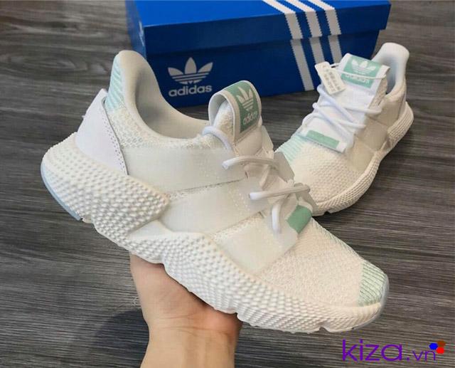 Giày adidas prophere trắng xanh