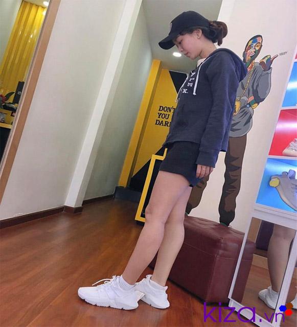 Phối đồ với giày adidas nữ Prophere 01