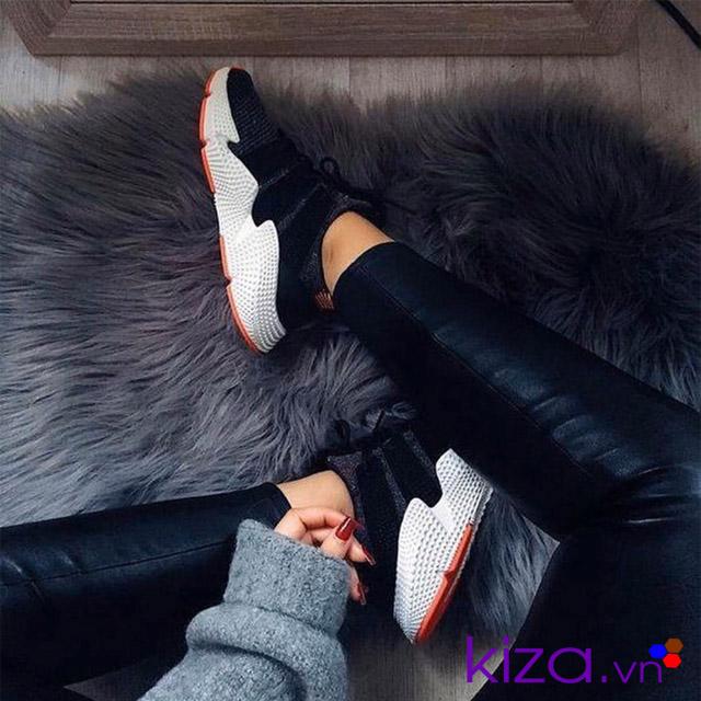 Phối đồ với giày adidas nữ Prophere 02