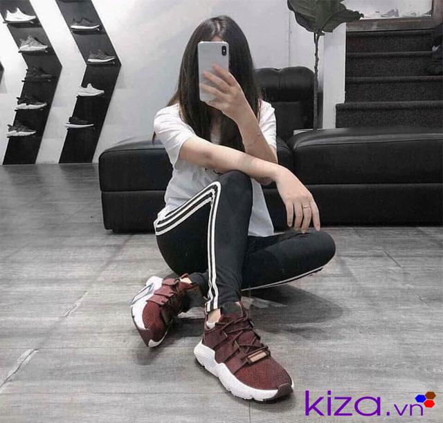 Quần thể thao+Áo phông cùng giày Pro