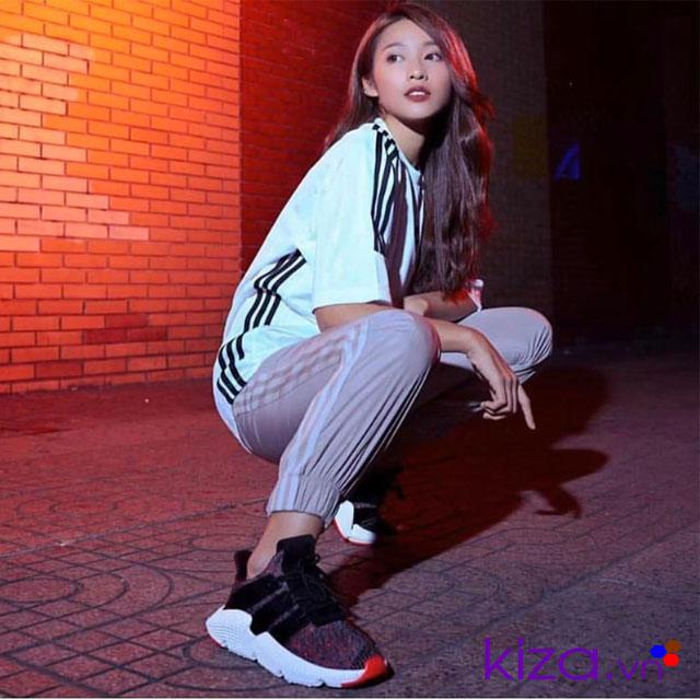 Phối đồ với giày adidas nữ Prophere 08