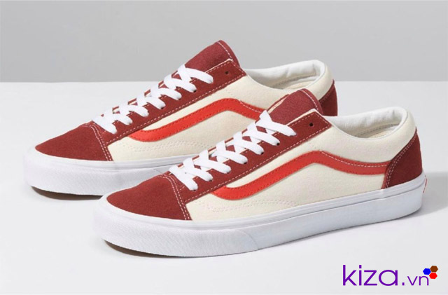 vans style 36 red