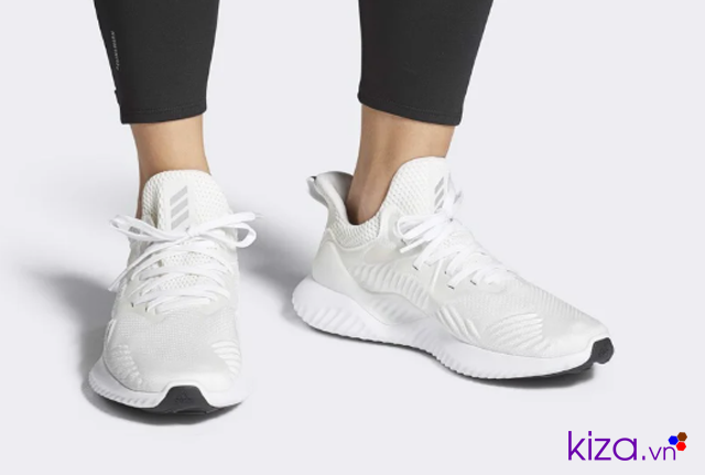 Adidas  Alphabounce trắng