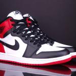 Jordan 1 đen đỏ