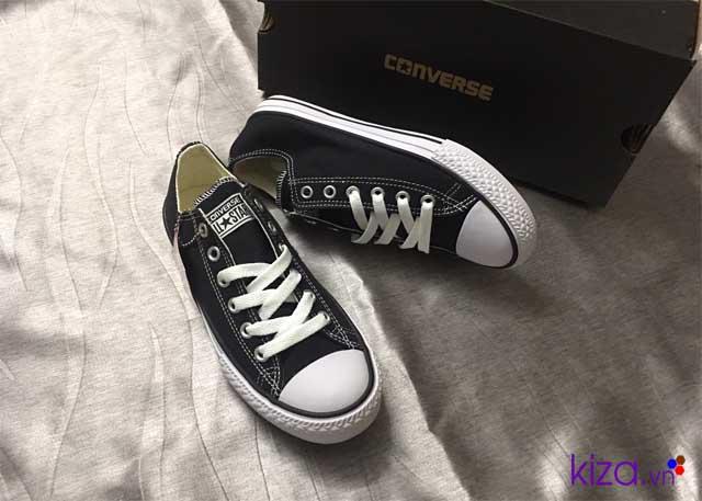 Giày converse nữ đen