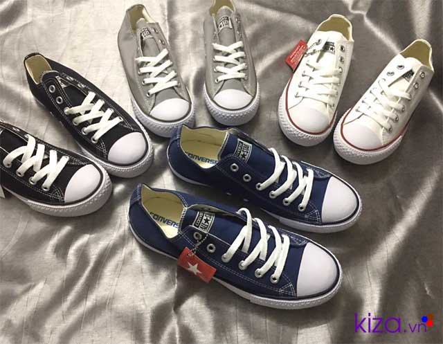 giày con vớt nam xanh navy