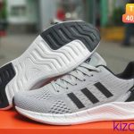 Adidas Zoom xám gót đen