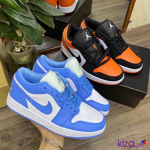 Nike Jordan 1 Low cam-xanh