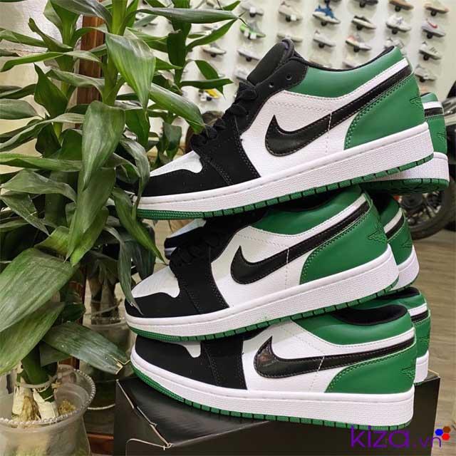 Nike Jordan 1 low xanh lá