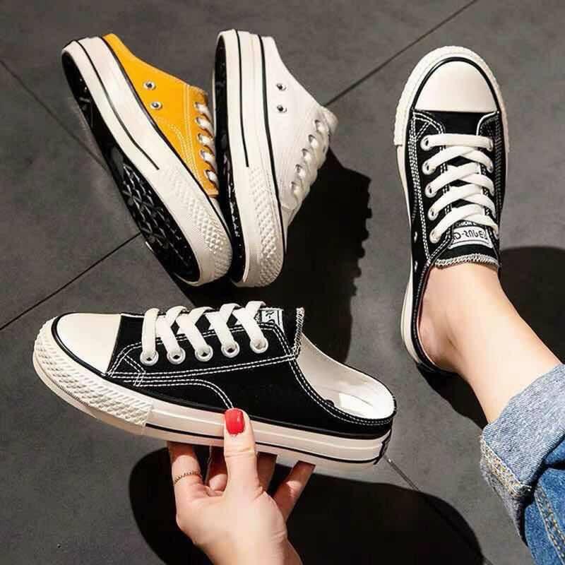Giày sục converse nữ đen