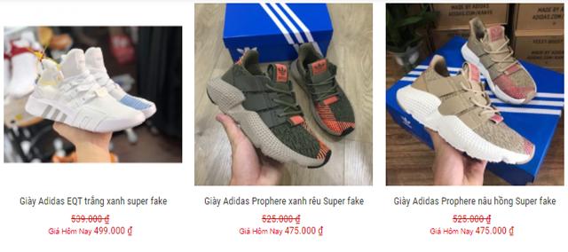 Giày adidas nữ sale