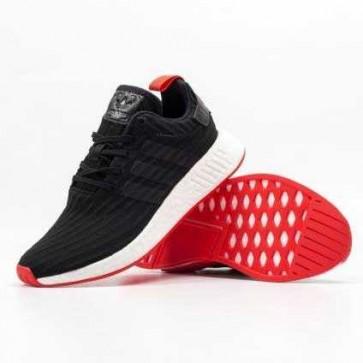 Adidas NMD R2 màu đen để trắng đỏ 1