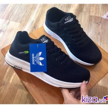 Giày Adidas NEO màu đen giá rẻ đẹp 009