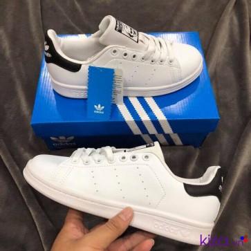 Adidas Stan Smith Trắng Đen Rep