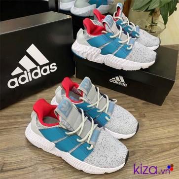 Giày Adidas Prophere Xám Xanh Super