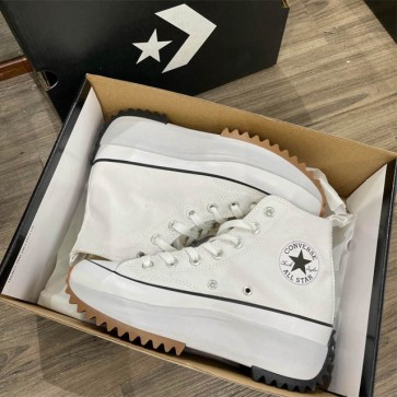 Converse run star hike trắng rep